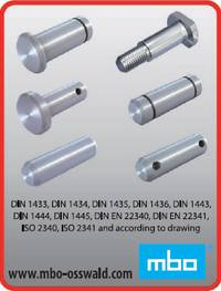 Bolts, ISO 2340, ISO 2341 & according to drawing (Print)