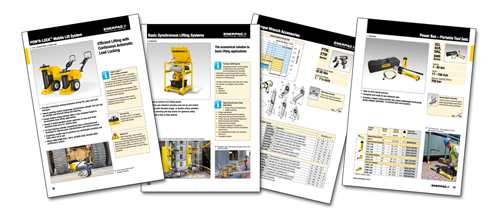 Enerpac Launches its new E328e - Industrial Tools Catalogue