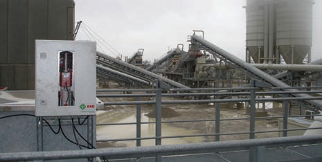 Bearing lubricators allow for savings at cement quarry