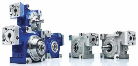 Servo worm gearheads with reduced circumferential backlash