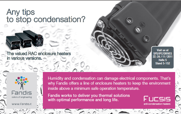 Valued RAC enclosure heaters in various versions