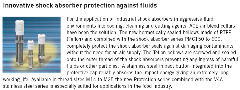 Innovative shock absorber