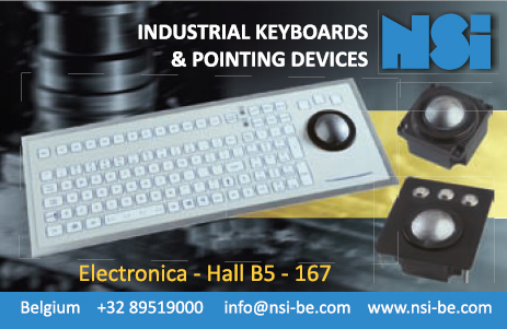 Industrial keyboards & pointing devices