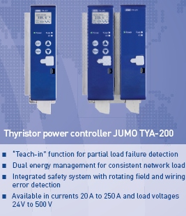Thyristor unit JUMO TYA-200