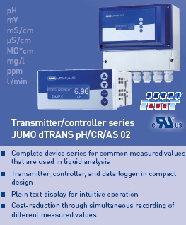 JUMO dTRANS pH/CR/AS 02