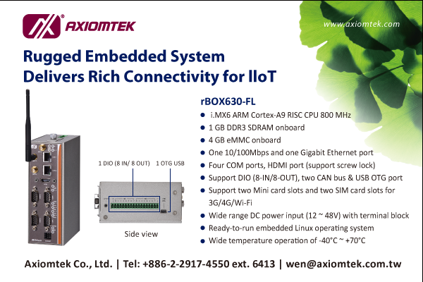 Rugged Embedded System Delivers Rich Connectivity for IIoT