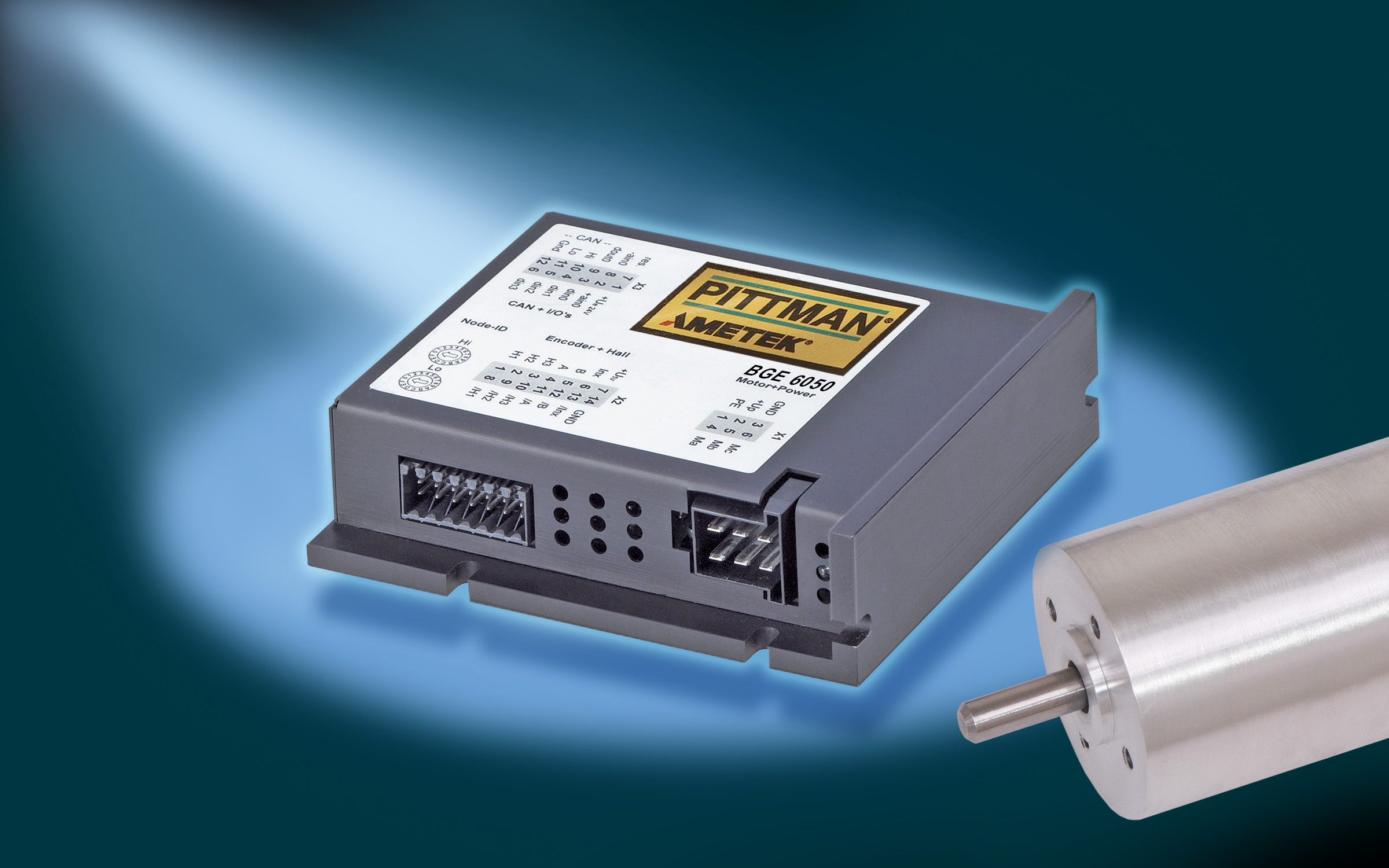 Servo Motor Controllers Brushed Controller Dc Control Of A Brush