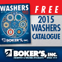 Boker's 2015 Washers Catalog