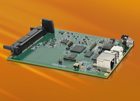 Embedded Data Acquisition Module with ARM Processor and Eight 400 kHz Analog Inputs