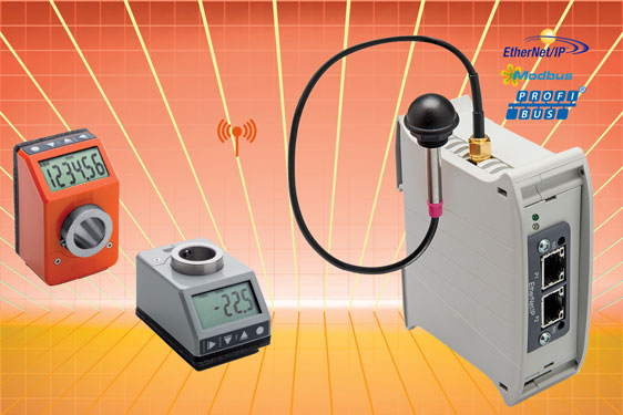 Wireless positioning system from Elesa