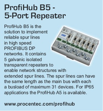 ProfiHub B5 - 5-port repeater