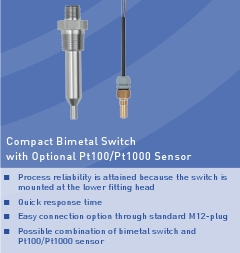 Compact Bimetal Switch