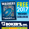 Boker's 2017 Washers Catalog