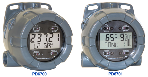 NEMA 4X Field-Mounted Meters