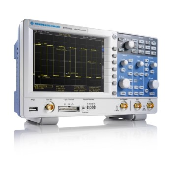 Compact Low-cost, high-quality Oscilloscope