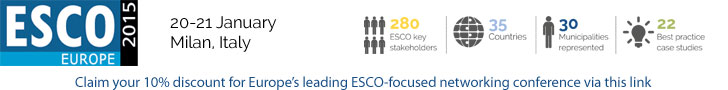 ESCO Europe 2015 Conference in Milan