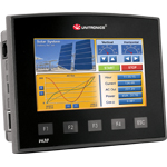 "Vision430™: all-in-one PLC Controller + HMI+ I/O with 4.3"" touchscreen"