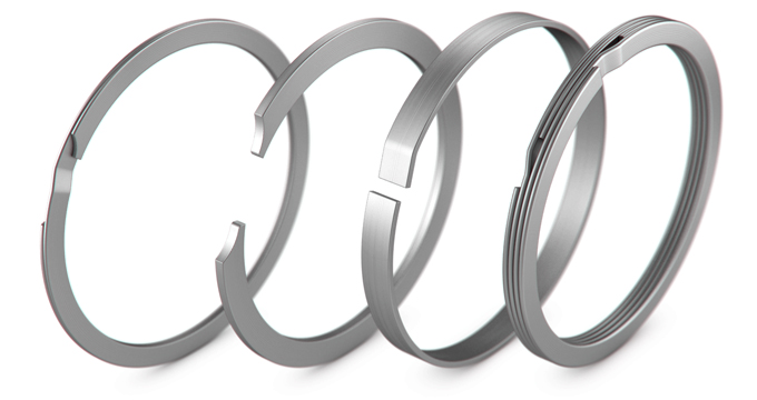 Stainless Steel Retaining Ring for Office Home 120 Circlips C-Clip