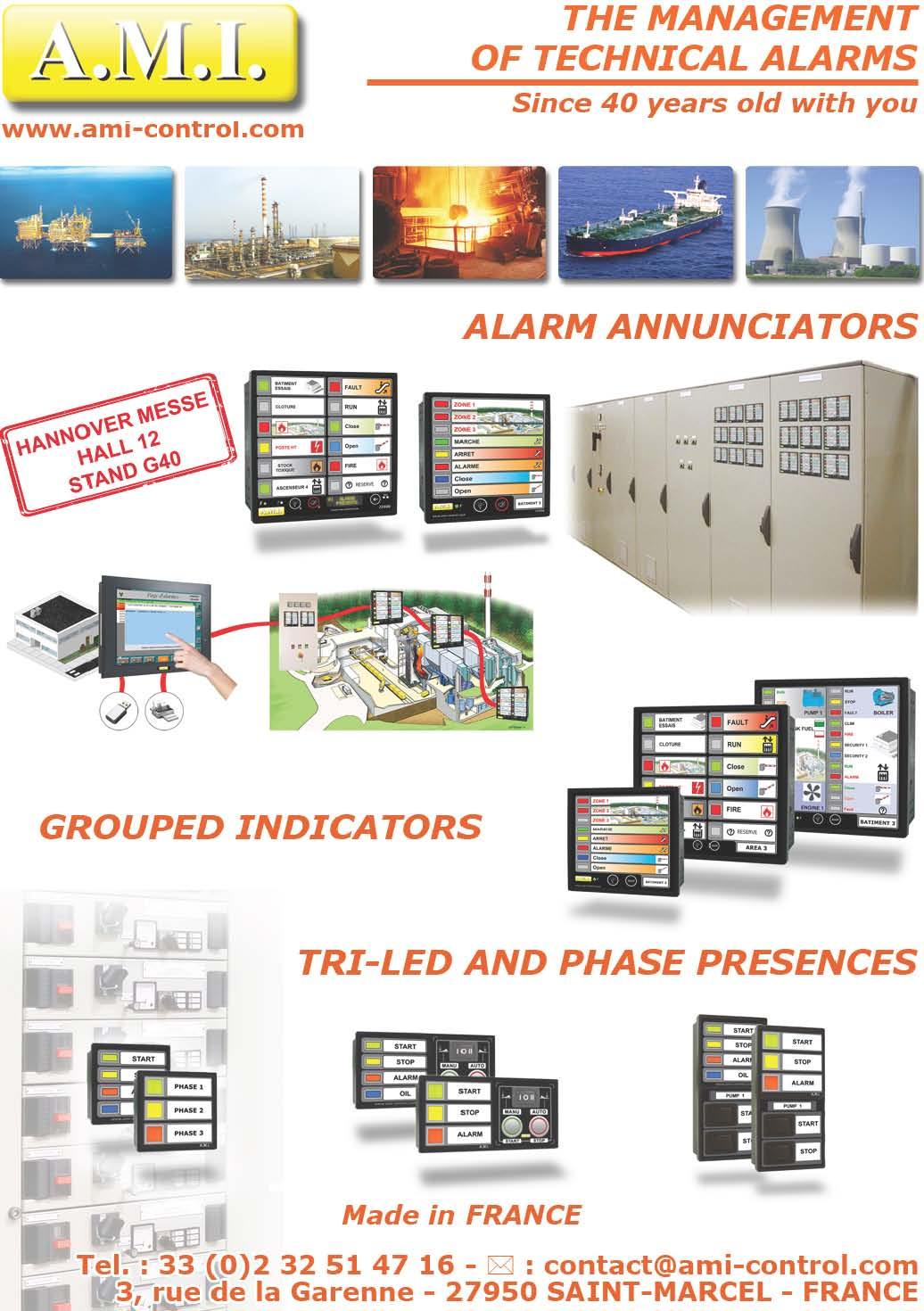 Alarm Annunicators Grouped Indicators Tri Led And Phase Presences Fuse Monitor