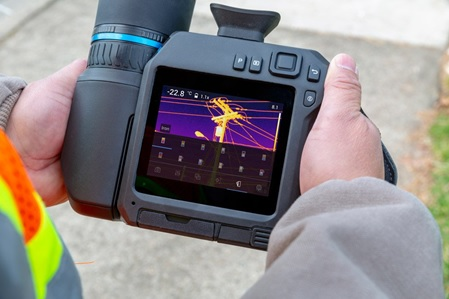 Infrared Camera for Thermal Measurements