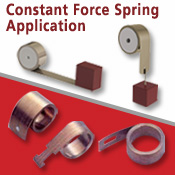 Optimized constant force spring solution