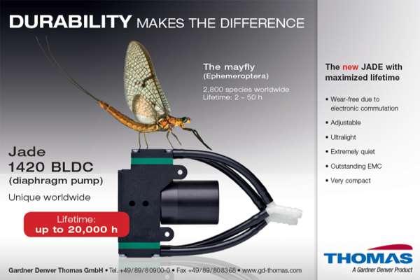 Miniature diaphragm pumps with durability