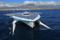 Solar Energy Powered Catamaran