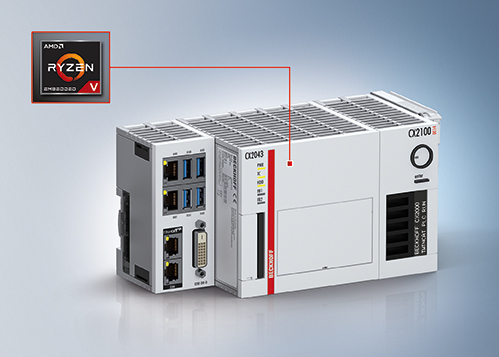 Industrial Embedded PC with AMD Processors