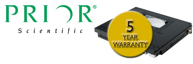Prior Scientific Announces an Improved Warranty for its Products